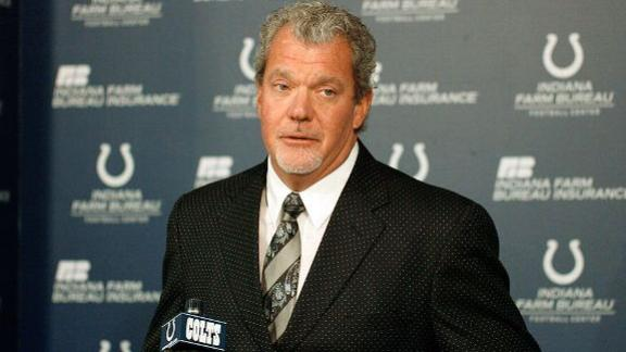 Video - Jim Irsay Charged With Two Misdemeanors