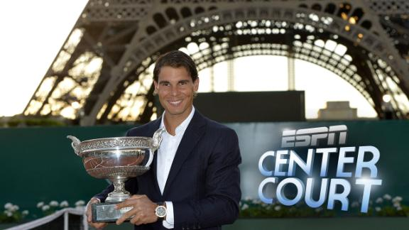 Center Court: French Open Men's Draw