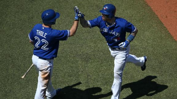 Video - Dickey Lifts Blue Jays Past A's