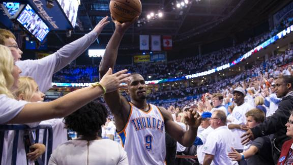 Ibaka's Presence Key For Thunder