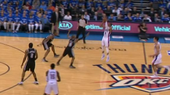 Westbrook's Long 3-Pointer