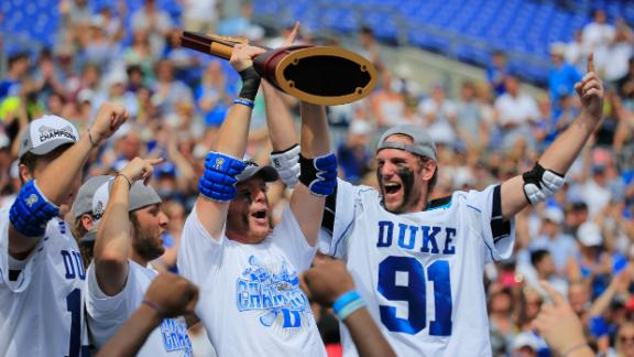 Duke Wins Second Straight Lacrosse Title