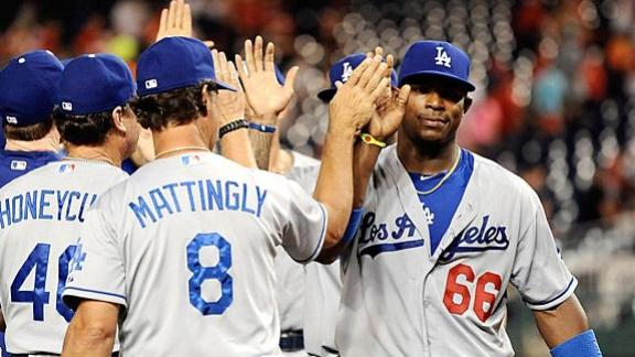 Mattingly: Puig 'Dominates' His Position