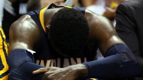 Pacers' Bad Body Language