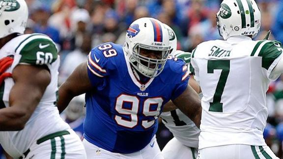 Bills' Dareus Downplays Drug Charges