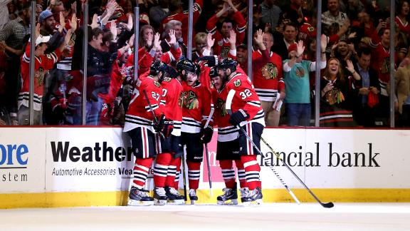 Blackhawks Win To Force Game 6
