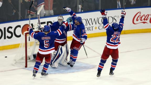 Rangers Win, Advance To Stanley Cup Finals