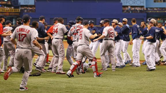 Video - Rays, Red Sox Take Battle To Boston