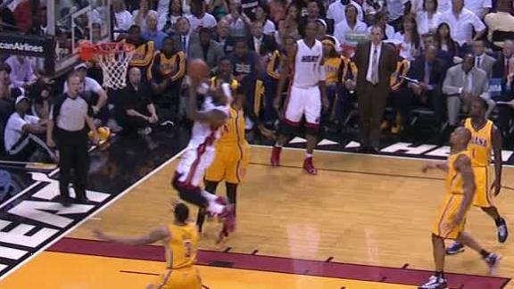 Video - LeBron Does It Again