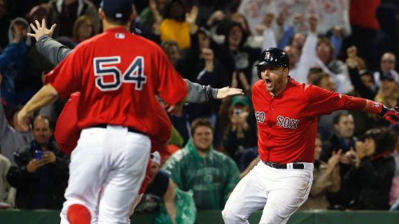 Four Red Sox Tossed In Boston's Walk-Off Win