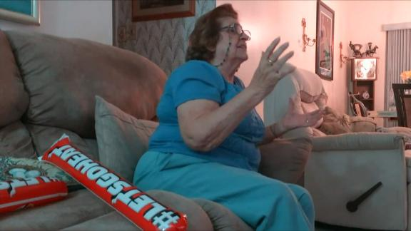 Video - Heat Fan Grandma Gets Animated