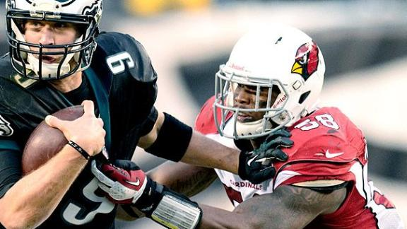 NFL Suspends Cards' Washington For 2014 Season