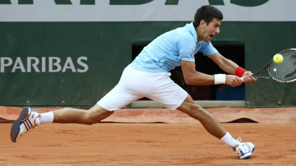 Djoker Labors To Beat Cilic