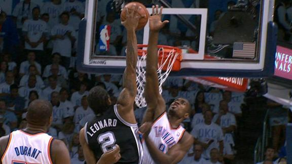 Video - Leonard Posterizes And Demoralizes