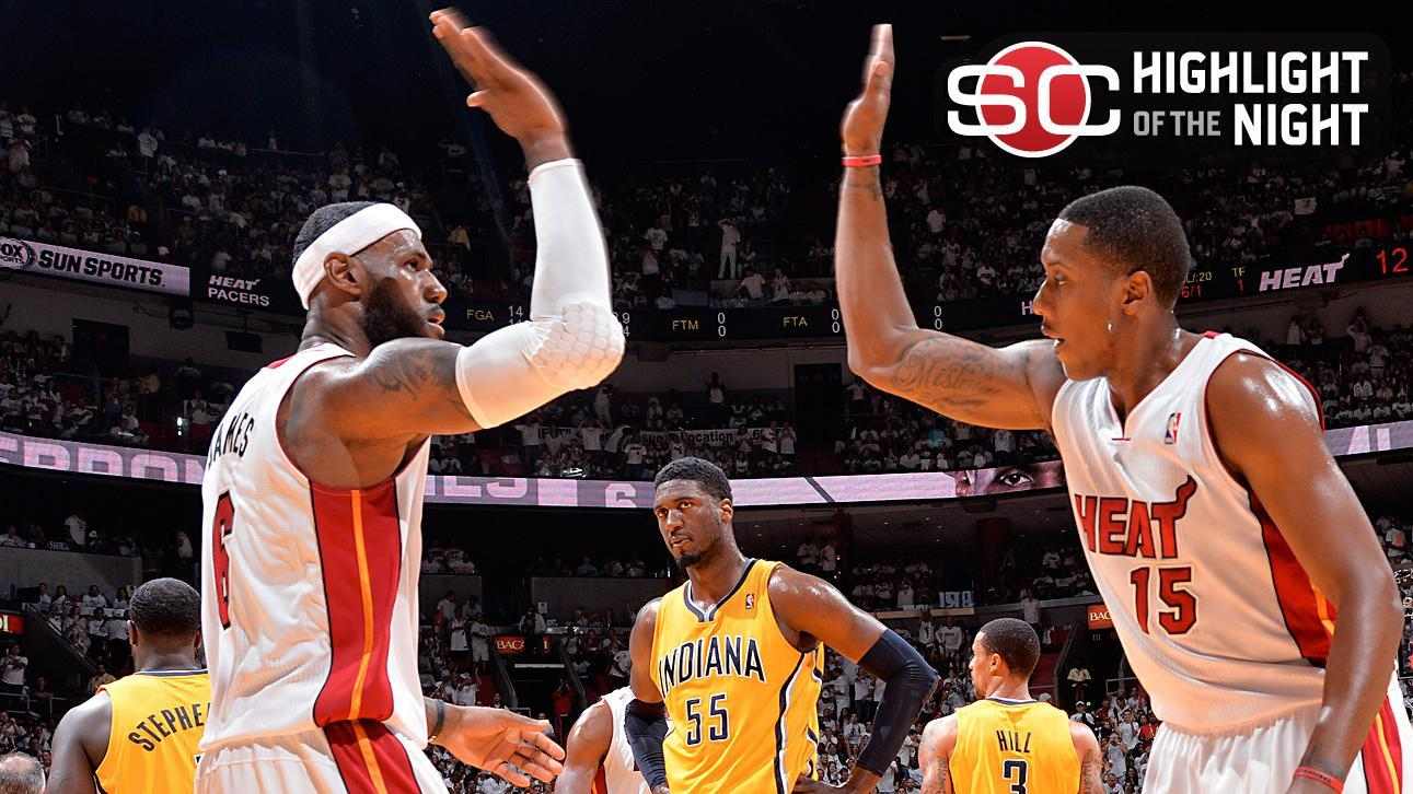 Heat Advance To 4th Straight Finals With Rout