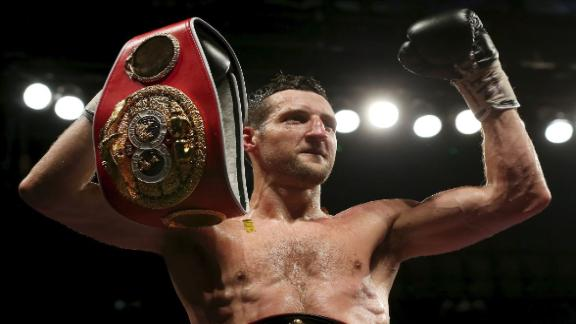 Froch Defends Title Over Groves