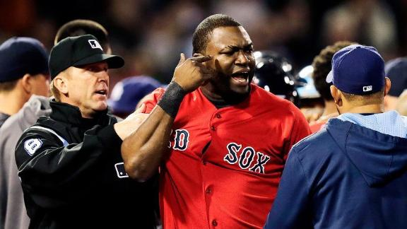 Ortiz Calls Out Price After Beaning