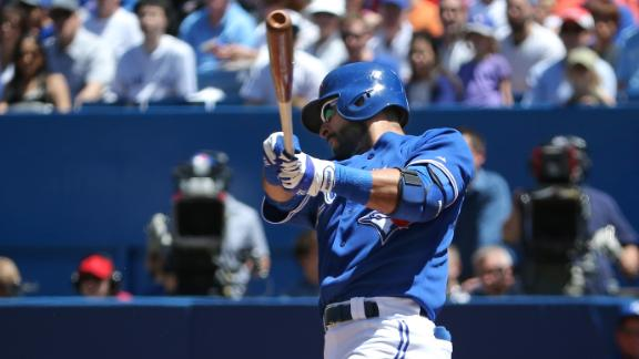 Blue Jays Use 7-Run First Inning To Rout Royals