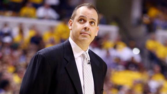 Vogel Will Return As Pacers Coach