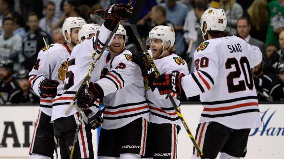 Blackhawks Win To Force Game 7