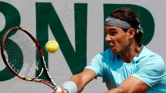 Nadal Beats Mayer In Straight Sets