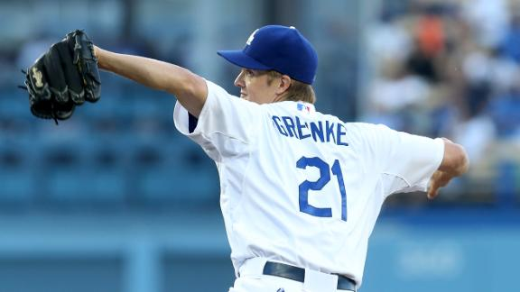 Video - Zack Greinke Looking To Lead Dodgers