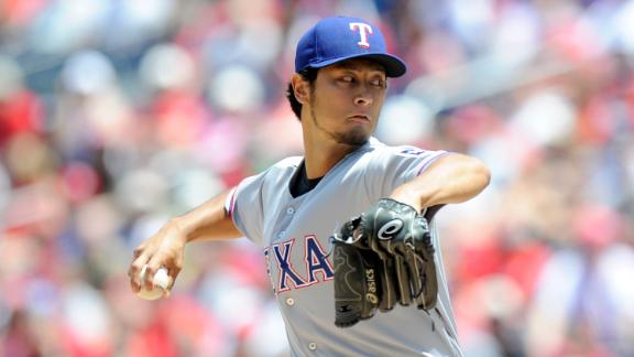 Darvish Dominates As Rangers Top Nationals