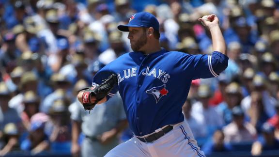 Buehrle first to 10 wins as Jays blank Royals