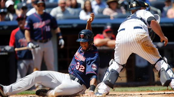 Video - Twins Top Yankees With Six-Run Ninth