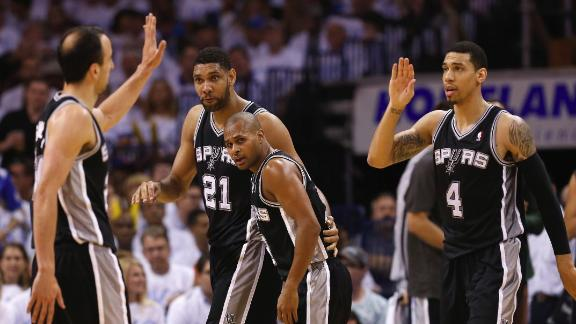 Spurs Advance Thanks To More Options