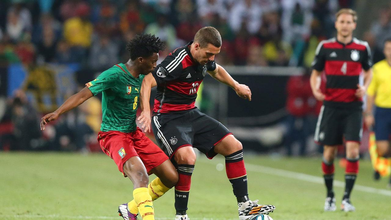 Highlights: Germany 2-2 Cameroon