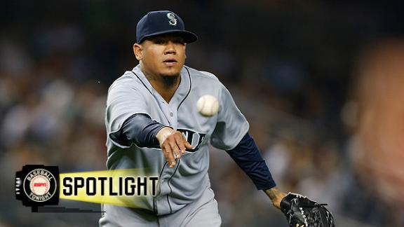 Hernandez, Mariners Pound Yankees