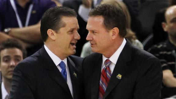 Self, Calipari: No Calls From NBA