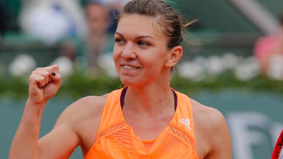 Halep Into French Open Quarters