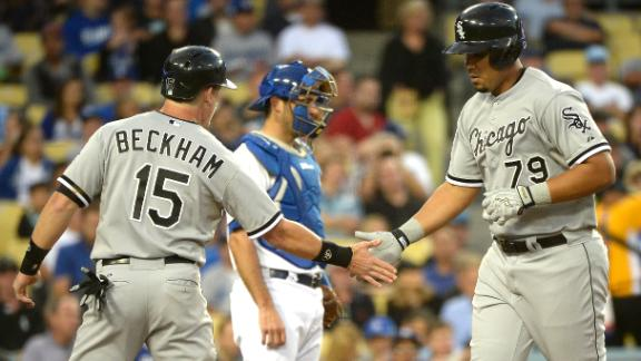 L.A. rolls as Kershaw locks in after Abreu HR
