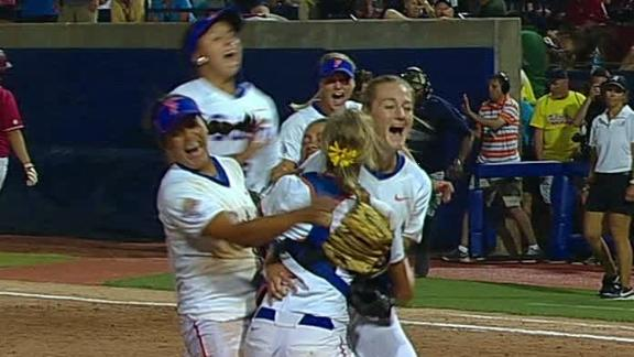Florida Seizes First WCWS Title