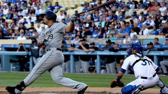 Another Abreu HR all White Sox need in L.A.