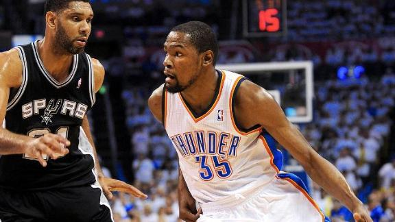 Durant lone unanimous All-NBA first-teamer