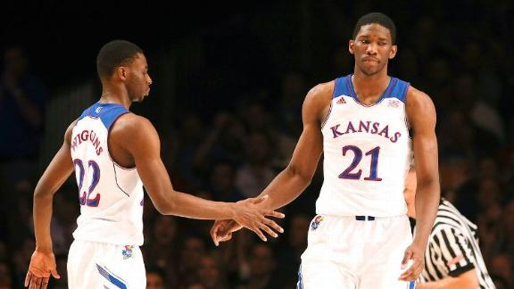 Embiid pays visit as Cavs ponder No. 1 pick