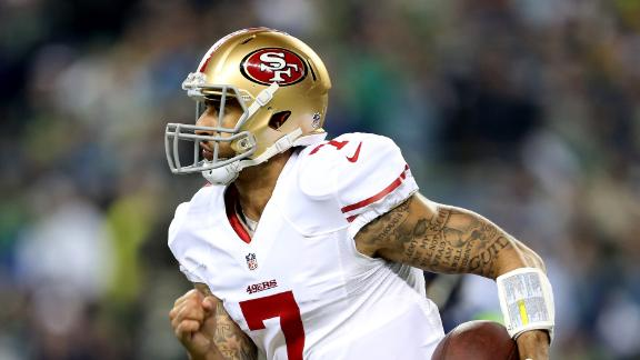 49ers, Kaepernick Reach Extension