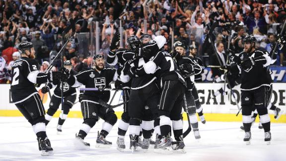 Kings Rally, Grab 1-0 Series Lead