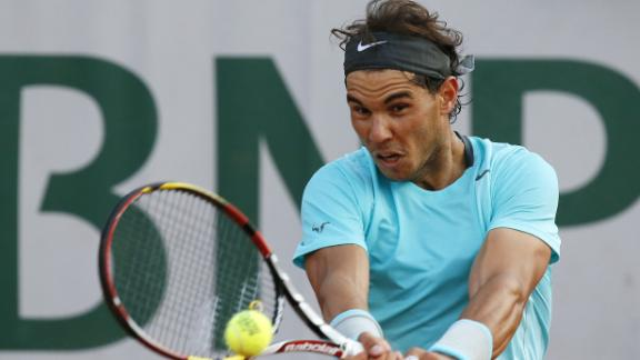 Nadal Ousts Ferrer At French Open