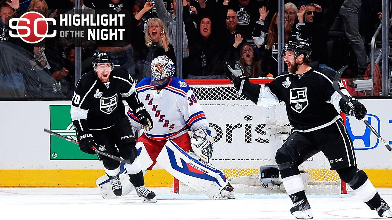 Williams' OT Goal Lifts Kings In Game 1