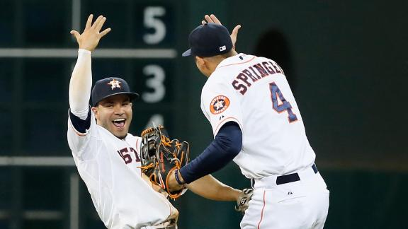 Springer caps rally as Astros thwart Angels