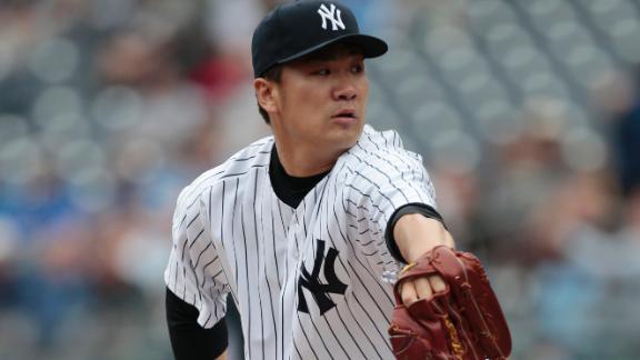 Tanaka, Yanks Snap Four-Game Skid