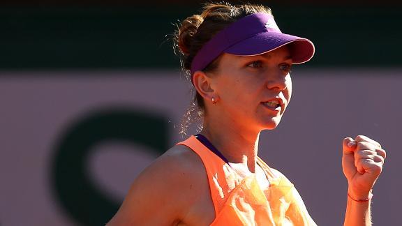 Emotional Win For Simona Halep