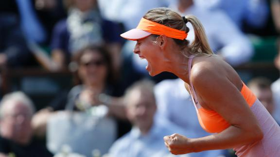 Sharapova Beats Younger Version Of Herself