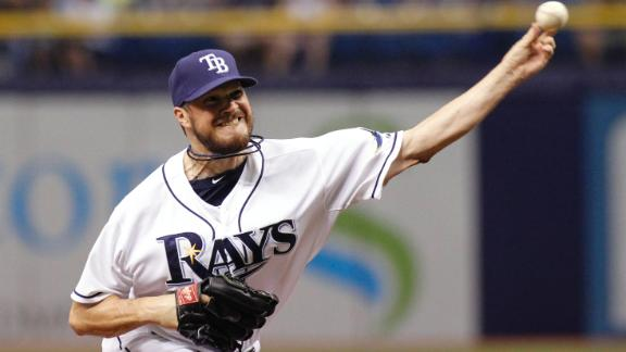 Rays Snap 10-Game Slide