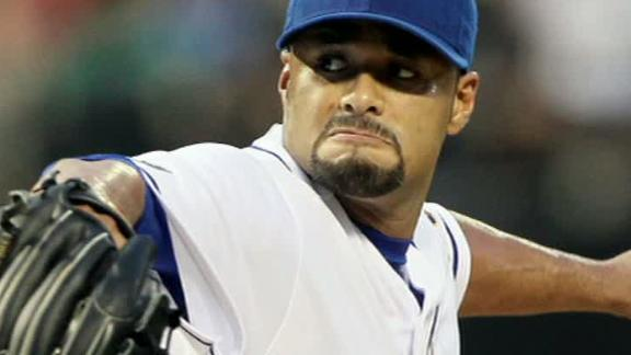 Johan Santana Out For Season