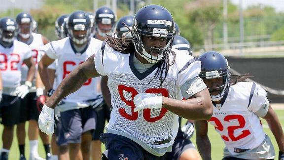 Signing contract just 'first step' for Clowney